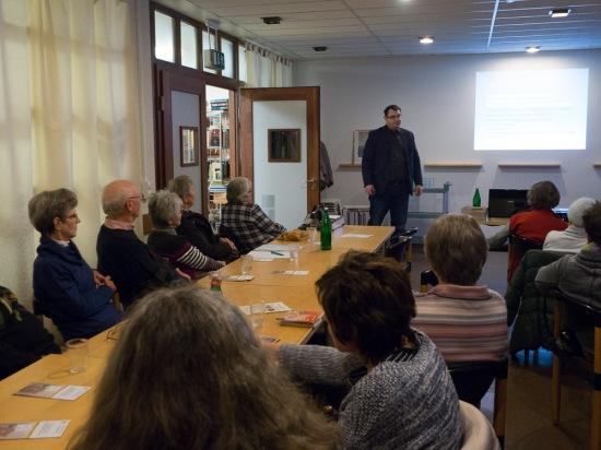 Vortrag im Eugen-Krautscheid-Haus